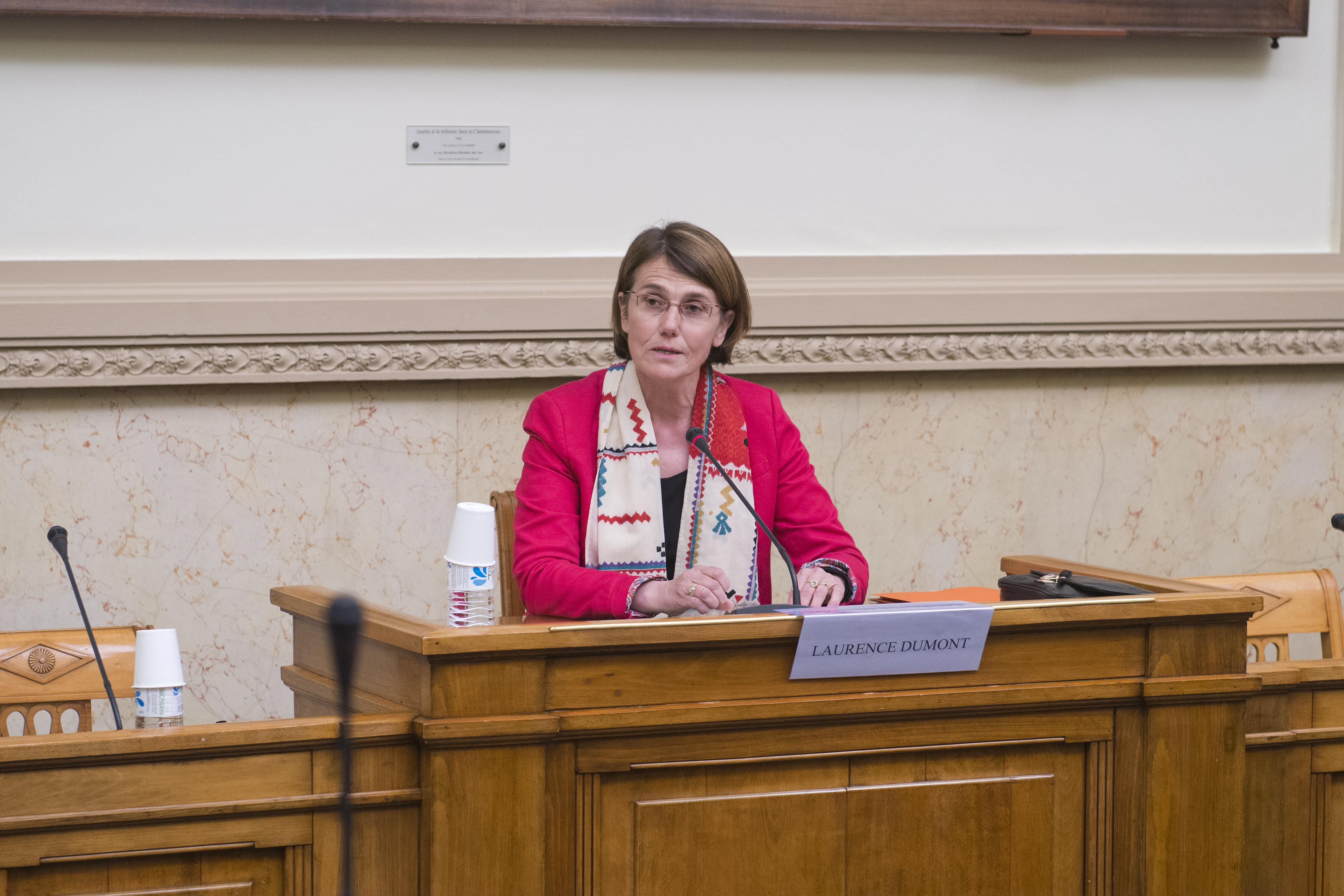 """08/04/2015: Colloque de l'APF """"enfants sans identité"""" Mme Laurence Dumont, M. Jean-Pierre Dufau, Mme Elisabteh Jean, M. Robert Badinter"""